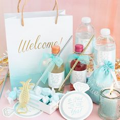 @KateAspen makes creating  gifting #weddingwelcomebags super easy  super pretty!  From personalized bags to custom bottle labels their DIY-friendly products are available in just about every single color and theme but the items here from their #SomethingBlue collection are our fav!  Right now use code AISLESOCIETY to receive 15% off your entire order on KateAspen.com! Click the link in our profile to take you there and tag a friend whod like to save! (valid through 04/17/16)  Image…