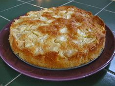 simple apple cake - this is seriously the best apple cake I've ever made. Everyone in the family had it for snack/breakfast/dessert and it's gone in less than 24 hours. It's light, not too sweet, and mine looked just like the picture! Apple Cake Recipes, Apple Desserts, Just Desserts, Baking Recipes, Delicious Desserts, Dessert Recipes, Yummy Food, Apple Cakes, Apple Pie Cake