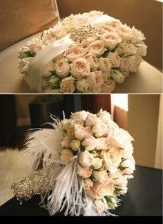Victorian/vintage wedding bouquet
