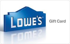 Lowes Gift Card $100 Value for $90 (Max of 3)  FS #LavaHot http://www.lavahotdeals.com/us/cheap/lowes-gift-card-100-90-max-3-fs/173557?utm_source=pinterest&utm_medium=rss&utm_campaign=at_lavahotdealsus