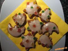 Ledové medové cukroví Meringue Cookies, Macaroons, Pudding, Sugar, Baking, Desserts, Food, Macaroni, Tailgate Desserts