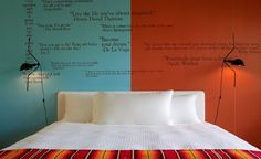 Best Affordable Beachfront Hotels: Another colorful room at the Postcard Inn. (Courtesy Postcard Inn)
