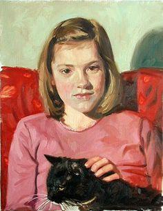 Portrait Viewer -Saskia by Aldo Balding