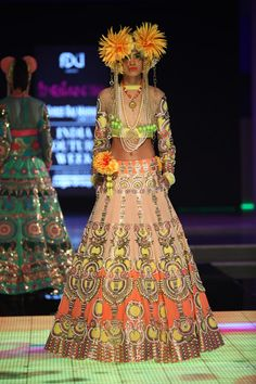 Lengha by Manish Arora at ICW 2014