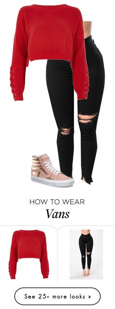 """1/6/2018"" by dynastiloudhousefan on Polyvore featuring River Island and Vans"