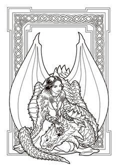 Image result for free printable fantasy pinup girl coloring pages