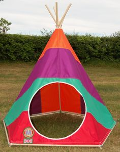 Find this Pin and more on Childrenu0027s Teepees / Play Tents by Mohican Tents - Made in England. & Kids Teepee by Mohican Tents: www.mohicantents.co.uk | Baby Love ...