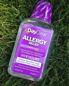 So excited to have found a new allergy solution! DayClear is the FIRST clear OTC medicine on the market and it works fast too!! #cleargeneration #partner