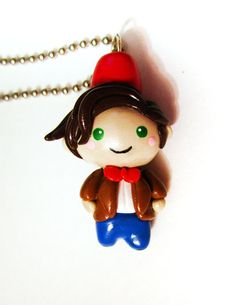 Super Adorable Dr. Who Chibi of the 11th Doctor