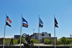 The Harley Davidson Museum in Milwaukee is a great place to visit!