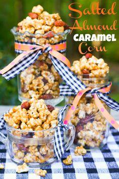 Salted Almond Caramel Corn from @Teresa of Blooming on Bainbridge
