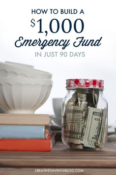 Build an Emergency Fund Fast | Make $1,100 in 90 Days - http://www.popularaz.com/build-an-emergency-fund-fast-make-1100-in-90-days/