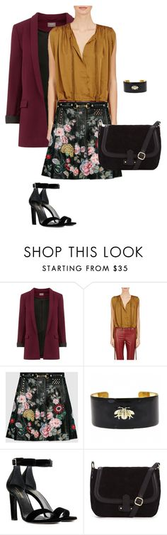 """Finally fall"" by yvonne-tyler ❤ liked on Polyvore featuring Étoile Isabel Marant, Gucci, Fornash and Yves Saint Laurent"