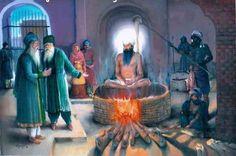 Celebrate with the Squamish Sikh community on Saturday June 23 from 10 AM- 2 PM to commemorate the Martyrdom of the fifth Guru Guru Arjun Dev Ji in The delicious food is FREE. Guru Arjan, Guru Gobind Singh, Dev Ji, World Religions, Old Photos, Faith, Painting, Sikh Quotes, Lieutenant General