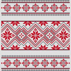 Ornament Ukrainian cross stitch pattern Geometric xstitch