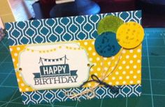 This card was made using Stampin Up Everyday Occasion Card Kit
