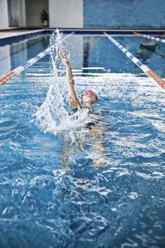 Swimming exercise routine