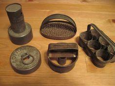 Antique kitchen tools