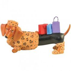Dachshund figurines for Dachshund Lovers. Fun and unique collectible Dachshund figurine designs in a variety of eccentric themes that appeal to our vast ever-changing tastes, personalities, hobbies, jobs. Black Dachshund, Funny Dachshund, Mini Dachshund, Daschund, Dachshunds, Westland Giftware, Dachshund Clothes, Ebay, Weiner Dogs