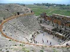 Amphitheatre where Paul gave speech in Ephisis, pamukkale