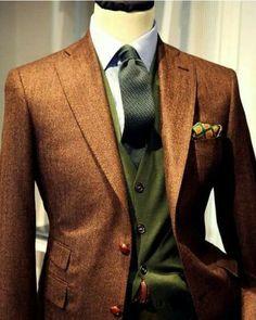 Mens Fashion Smart – The World of Mens Fashion Gentleman Mode, Gentleman Style, Gentleman Fashion, Sharp Dressed Man, Well Dressed Men, Mens Attire, Mens Suits, Suit Men, Mode Masculine