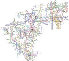 North American Metro Rail by Sotosoroto, via Flickr
