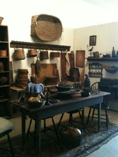 Bountiful Home Primitive table kitchen