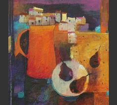 Still life Anuk Naumann Painting Still Life, Still Life Art, St Ives, Postmodernism, Mixed Media Art, Be Still, Abstract, Artists, Paint Ideas