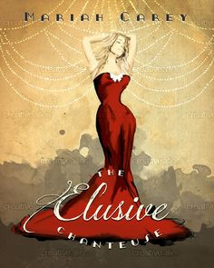 """""""The Elusive Chanteuse"""" - Digital Illustration  Vote for my entry for Creative Allies artwork contest for Mariah's new album, """"Me. I am Mariah... The Elusive Chanteuse"""". I wanted to create an Art Deco feel to the image with a mix of vintage fashion illustration with the likes of Oscar de la Renta & Chanel. The link to vote is at the top of my instagram profile or visit:  https://creativeallies.com/creations/hms3/contests/964/design-artwork-for-mariah-carey #meiammariah #photoshop…"""