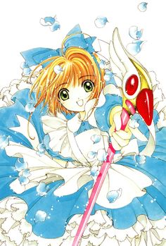 blue dress -- Cardcaptor Sakura -- www.animepaper.net