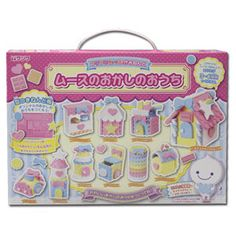 Mousse-chan Fuwa Fuwa Paper Clay Set ~ Let's Make Original Sweet's House