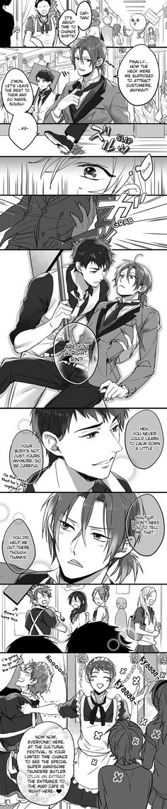 """lol when sousuke said """"your body isnt only yours anymore"""" i just really thought he meant something else XD"""