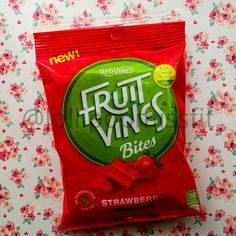 Fruit Vines Bites Strawberry @FruitVines #SweetSide #influenster @Influenster #frostyvoxbox I received these products complimentary from Influenster for testing purposes.
