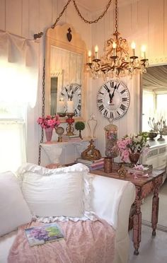 25+ Charming Shabby Chic Living Room Decoration Ideas - For Creative Juice