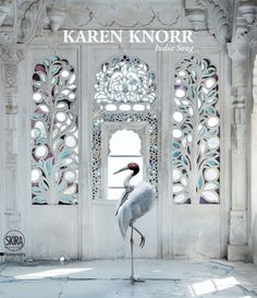 Photographer Karen Knorr Brings Indian Myths to Life | Karen Knorr, A Place Like Amravati, Udaipur City Palace, Udaipur. On the cover of the book India Song © Skira Editore.
