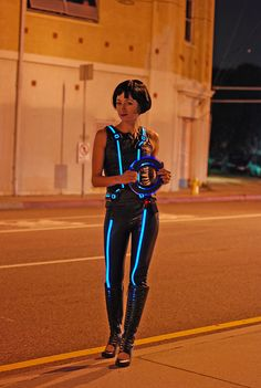 Tron: Illuminated Quorra Costume | Flickr - Photo Sharing!