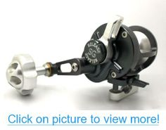 Release LG Lever Drag Silver/Red w/ Power Handle Conventional Reel