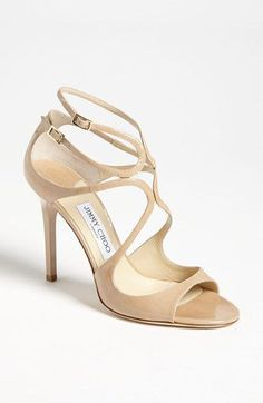 To have and to hold, Jimmy Choo Lang sandal, for weddings and beyond #weddingshoes