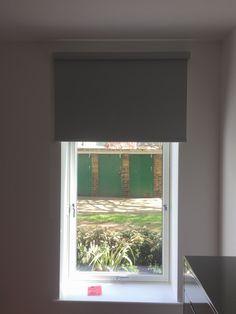Blackout Bedroom Blinds Mesmerizing Bottom Up Roller Blind Installed With Blackout Fabric For Bedroom Design Ideas