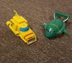 1992 #bandai pull back & go mini #thunderbird 2 & #thunderbird 4 toys #thunderbird,  View more on the LINK: http://www.zeppy.io/product/gb/2/301969562493/