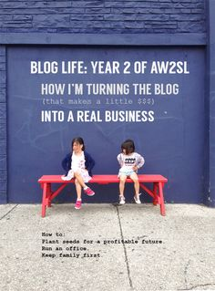 Turning A Blog Into A Business. Notes on how to run a profitable blog.
