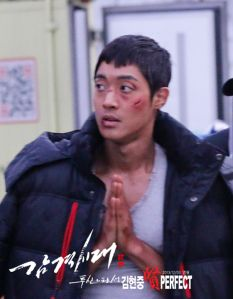 "Kim Hyun Joong and the Cast at ""the new drama filming"" Brad Pitt, Leonard Dicaprio, Inspiring Generation, Kim Joong Hyun, Big Crush, Boys Over Flowers, Drama Film, Beautiful Boys, Eye Candy"