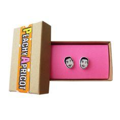 Tom Haverford Earrings