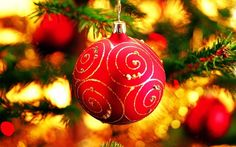 Bola Navidad Fondo Pantalla