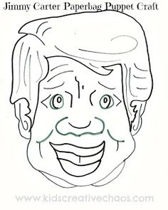 1000 images about coloring pages from kcc on pinterest for Jimmy carter coloring page