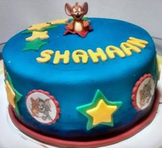 Tom & Jerry Cake  Cake maker in Epsom, Surrey. Cakes for birthdays, weddings, christenings and every occasion. Taking orders for Christmas cakes & cupcakes.