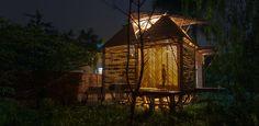 Cette maison faite de bambou, résiste aux inondations
