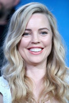 Actress Melissa George speaks onstage during the 'Heartbeat' panel discussion at the NBCUniversal portion of the 2015 Winter TCA Tour at Langham Hotel on January 13, 2016 in Pasadena, California.