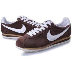 Mens Nike Classic Cortez Anti-Fur Brown White