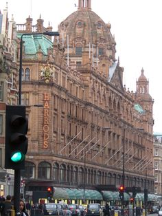 Harrods. Photo by Michele Nelson